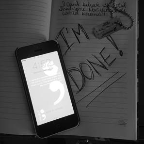 Suicidal message